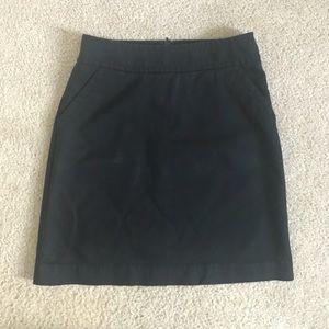 Banana Republic Black Skirt with Pockets
